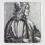 Giovanni Pico della Mirandola, from Square Stickers
