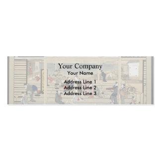Giovanni Piranesi- Burial Chamber Business Card Template
