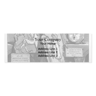Giovanni Piranesi- Burial chambers of a Family Business Card