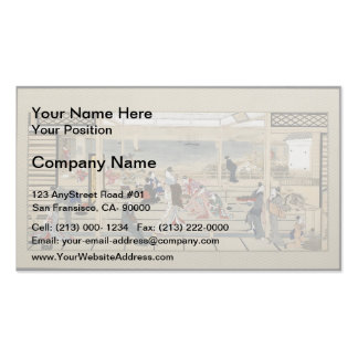 Giovanni Piranesi-Burial chambers of a Family Business Card Template