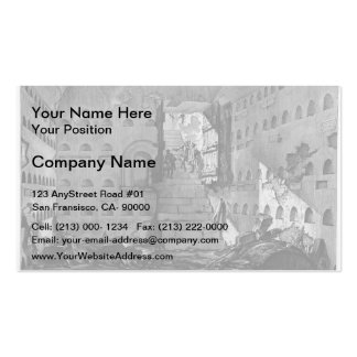 Giovanni Piranesi- Burial chambers of a Family Pack Of Standard Business Cards