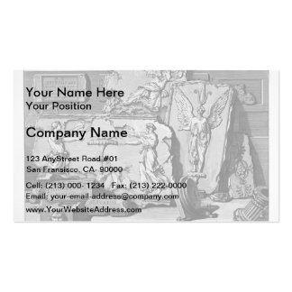 Giovanni Piranesi-Burial chambers of a Family Pack Of Standard Business Cards