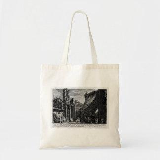Giovanni Piranesi-Forum Nervae Tote Bags