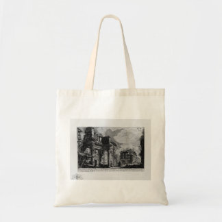 Giovanni Piranesi-Forum Nervae Canvas Bags