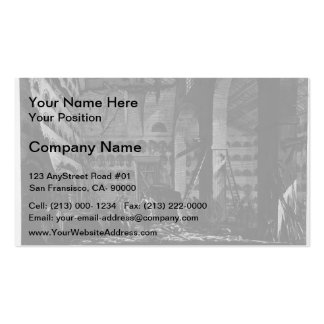 Giovanni Piranesi- Interior view of burial rooms Pack Of Standard Business Cards