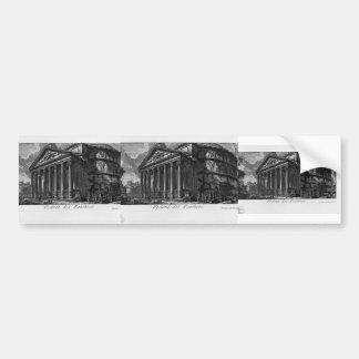 Giovanni Piranesi- Pantheon Bumper Sticker