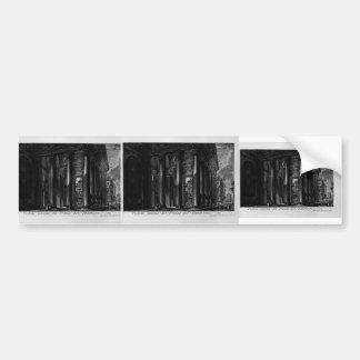 Giovanni Piranesi- Pantheon Bumper Stickers