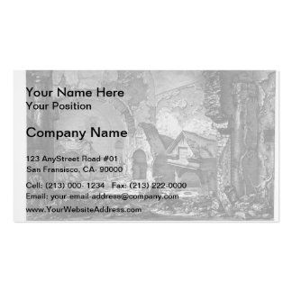 Giovanni Piranesi-Plan of the burial chambers Pack Of Standard Business Cards
