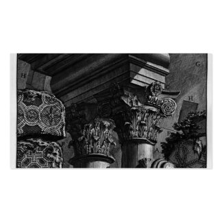 Giovanni Piranesi-Remains of great building burial Double-Sided Standard Business Cards (Pack Of 100)