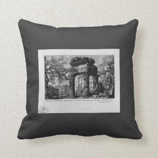 Giovanni Piranesi- Ruins of the pronaos of temple Cushion