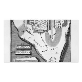Giovanni Piranesi-The Roman antiquities of Stadium Pack Of Standard Business Cards