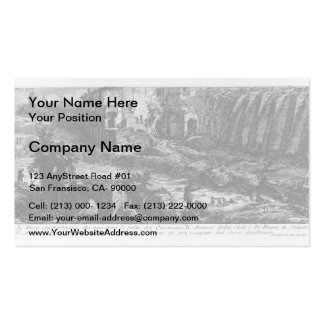 Giovanni Piranesi- The Roman antiquities Pack Of Standard Business Cards