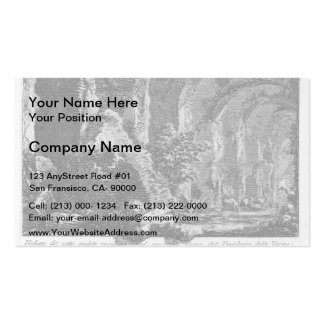 Giovanni Piranesi- The Seven Halls Pack Of Standard Business Cards