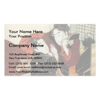 Giovanni Piranesi- Urn of marble in burial chamber Business Card Template