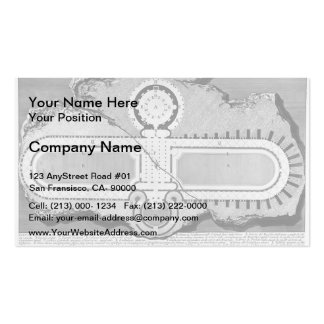Giovanni Piranesi- Urn of marble in burial chamber Pack Of Standard Business Cards