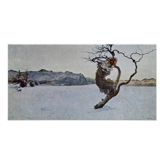 Giovanni Segantini - The Evil Mothers Poster