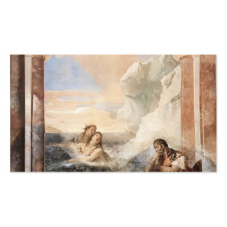 Giovanni Tiepolo: Achilles consoled by his mother Pack Of Standard Business Cards