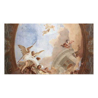 Giovanni Tiepolo: Allegory of Merit Pack Of Standard Business Cards