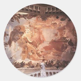 Giovanni Tiepolo: Apollo and the Continents Stickers