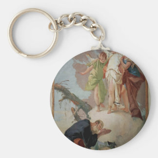 Giovanni Tiepolo:Appearance of angels to Abraham Key Chains