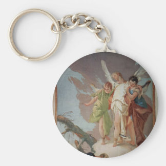 Giovanni Tiepolo:Appearance of angels to Abraham Keychains