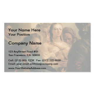 Giovanni Tiepolo- Christ and the Adulteress Pack Of Standard Business Cards