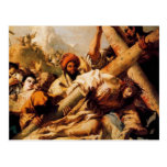 Giovanni Tiepolo-Christ's Fall on way to Calvary Postcard
