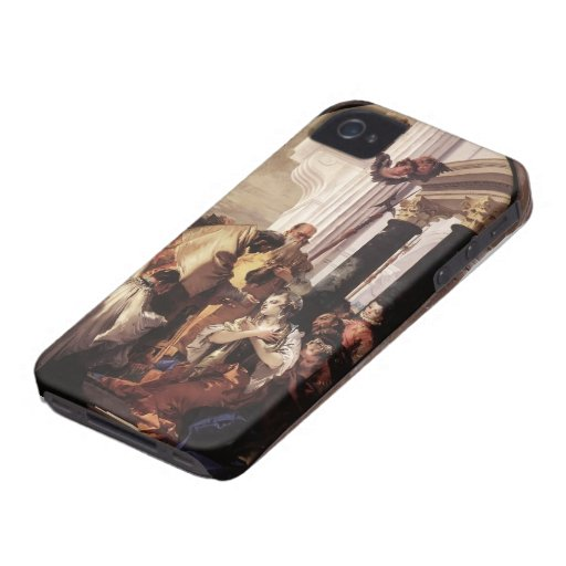 Giovanni Tiepolo- Last Communion of St Lucy iPhone 4 Case-Mate Cases