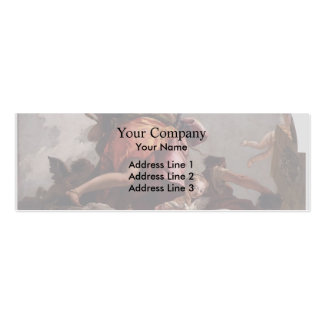 Giovanni Tiepolo- Prudence, Sincerity & Temperance Pack Of Skinny Business Cards