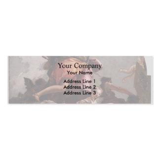 Giovanni Tiepolo- Prudence Sincerity Temperance Business Card Template