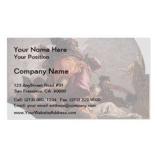 Giovanni Tiepolo- Prudence, Sincerity & Temperance Pack Of Standard Business Cards