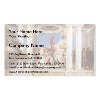Giovanni Tiepolo: The Sacrifice of Iphigenia Pack Of Standard Business Cards