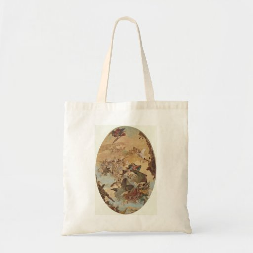 Giovanni Tiepolo:Transportation of the Holy House Canvas Bag