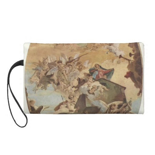 Giovanni Tiepolo:Transportation of the Holy House Wristlet Clutch