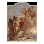 Giovanni Tiepolo:Venus's Farewell to Aeneas Postcard