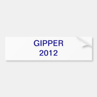 Gipper 2012 car bumper sticker