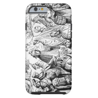 Gipsies fortune telling, after a woodcut in 'Cosmo Tough iPhone 6 Case