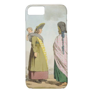 Gipsies, plate 25 from Volume I of 'The Manners, C iPhone 8/7 Case
