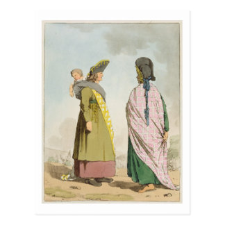 Gipsies, plate 25 from Volume I of 'The Manners, C Postcard