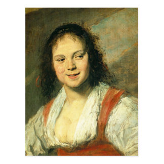 Gipsy Girl by Frans Hals Post Cards