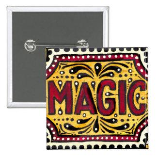 Gipsy Magic 15 Cm Square Badge