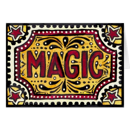 Gipsy Magic Greeting Card