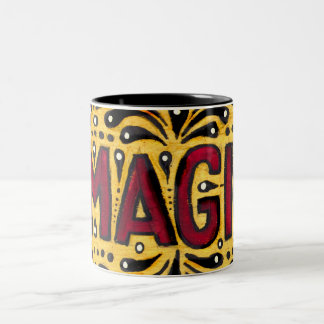 Gipsy Magic Two-Tone Coffee Mug