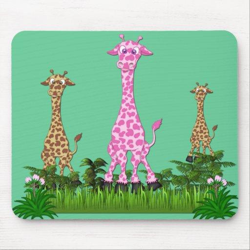 giraffe2 mouse mat