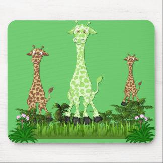 giraffe3 mouse mats