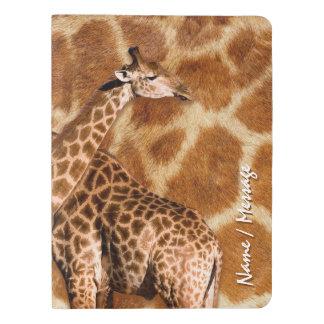 Giraffe 1A Extra Large Moleskine Notebook