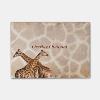 Giraffe 1A Image Options Post-it® Notes