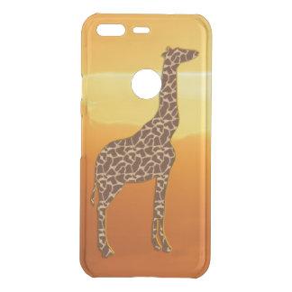 Giraffe 2 uncommon google pixel case