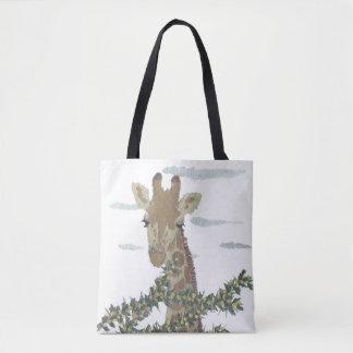 Giraffe, African Animal, Wild Life Tote Bag