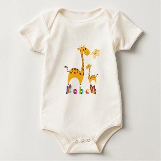 Giraffe American Apparel Organic Bodysuit
